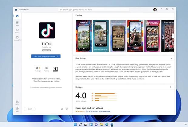 Windows 11 получит поддержку Android-приложений