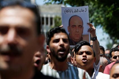 Противника главы Палестины избили до смерти силовики