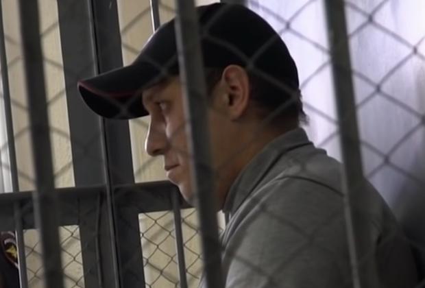 Максим Климов в суде