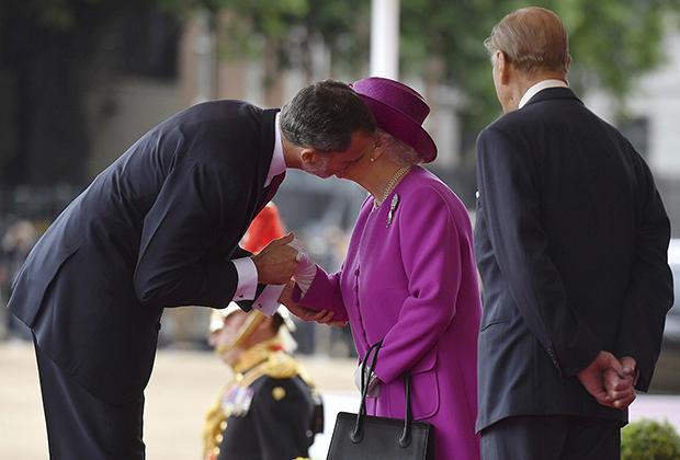 Елизавета II и Фелипе VI