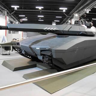 Прототип польского танка PL-01 в 2013 году