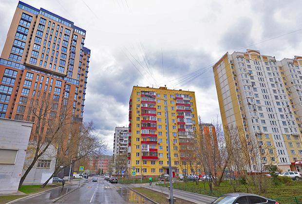 Международная улица в Москве