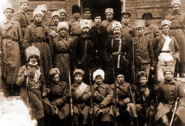 Повстанцы Объединенной Партизанской армии Тамбовской губернии