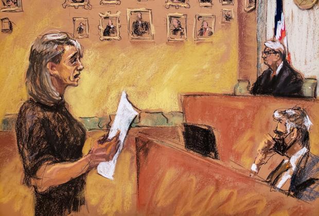 Эллисон Мэк приносит извинения жертвам в суде