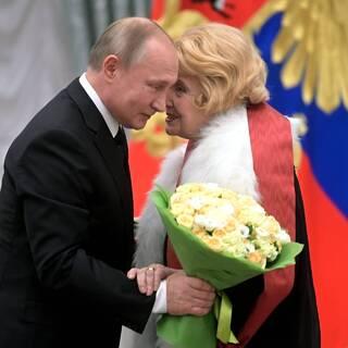 Владимир Путин и Татьяна Доронина