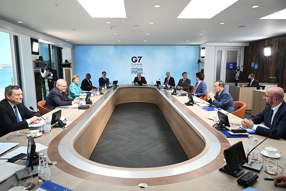 Саммит G7 в британском Корнуолле
