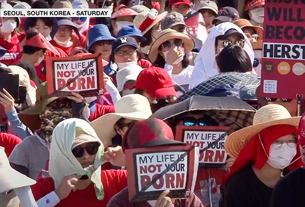 Протесты «Моя жизнь —не твое порно»