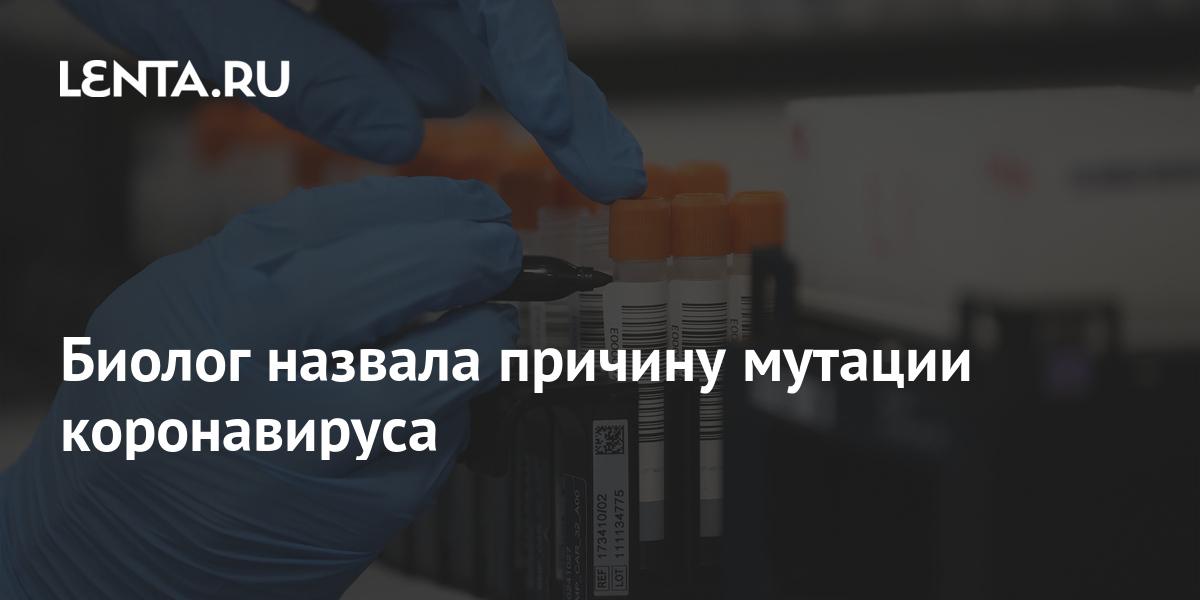share 1a85f9c55161ed53e2e6d0802cf41ff0 Биолог назвала причину мутации коронавируса
