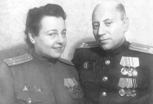 Зоя Воскресенская-Рыбкина и Борис Рыбкин