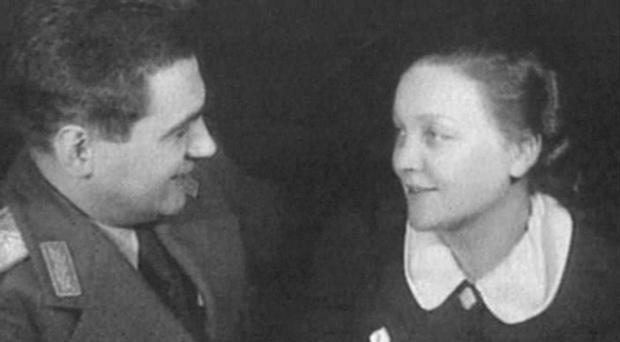 Павел и Эмма Судоплатовы