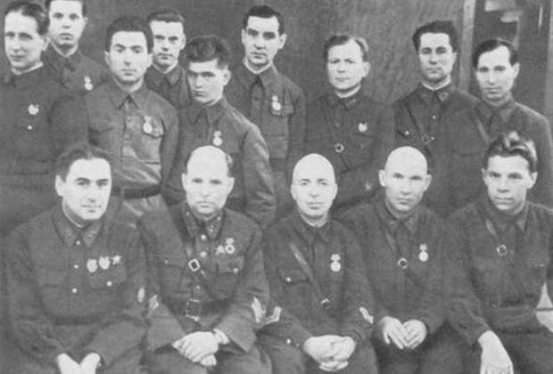 Сотрудники 4-го управления НКВД СССР