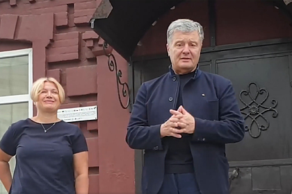 Петр Порошенко (справа)