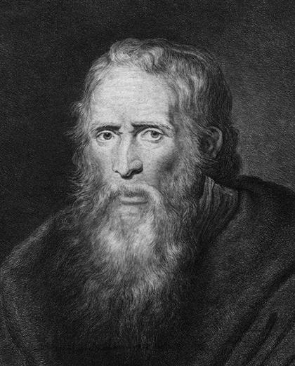Портрет Томаса Парра, написанный Рубенсом