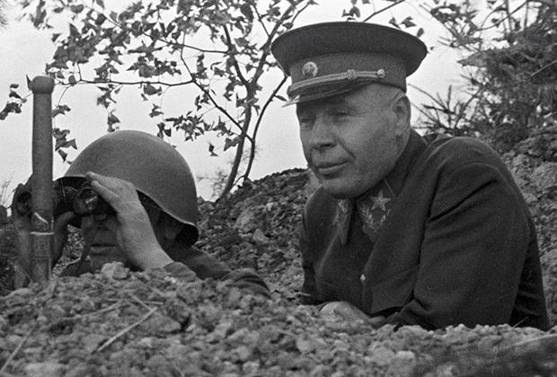 Маршал Семен Тимошенко на довоенных учениях
