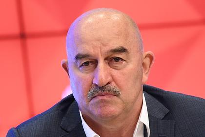Черчесов уволен с поста главного тренера сборной России [Футбол]