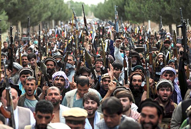 Афганские ополченцы