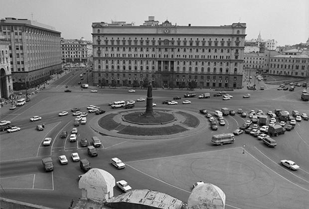 Здание КГБ СССР на Лубянке