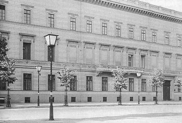 Здание посольства СССР в Берлине
