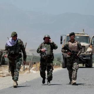 Афганские военные в провинции Лагман