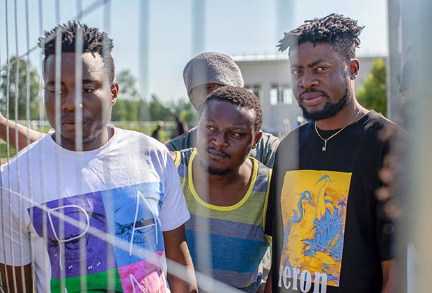 Мигранты из Камеруна