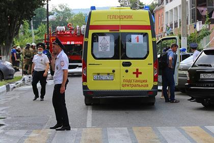Стало известно о числе пострадавших при взрыве газа в гостинице Геленджика: Происшествия: Путешествия: Lenta.ru