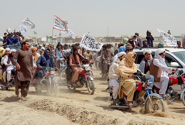 Талибы на границе Пакистана и Афганистана