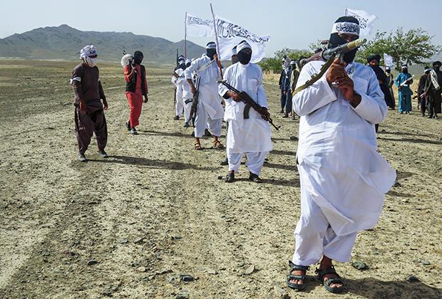 Бойцы «Талибан»