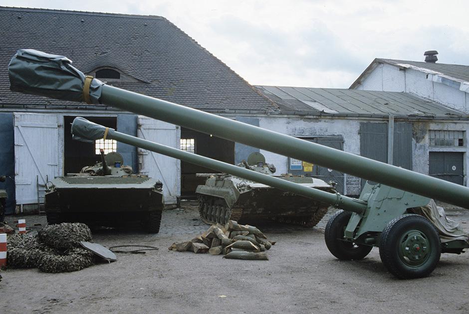 Военная техника ЗГВ в Германии