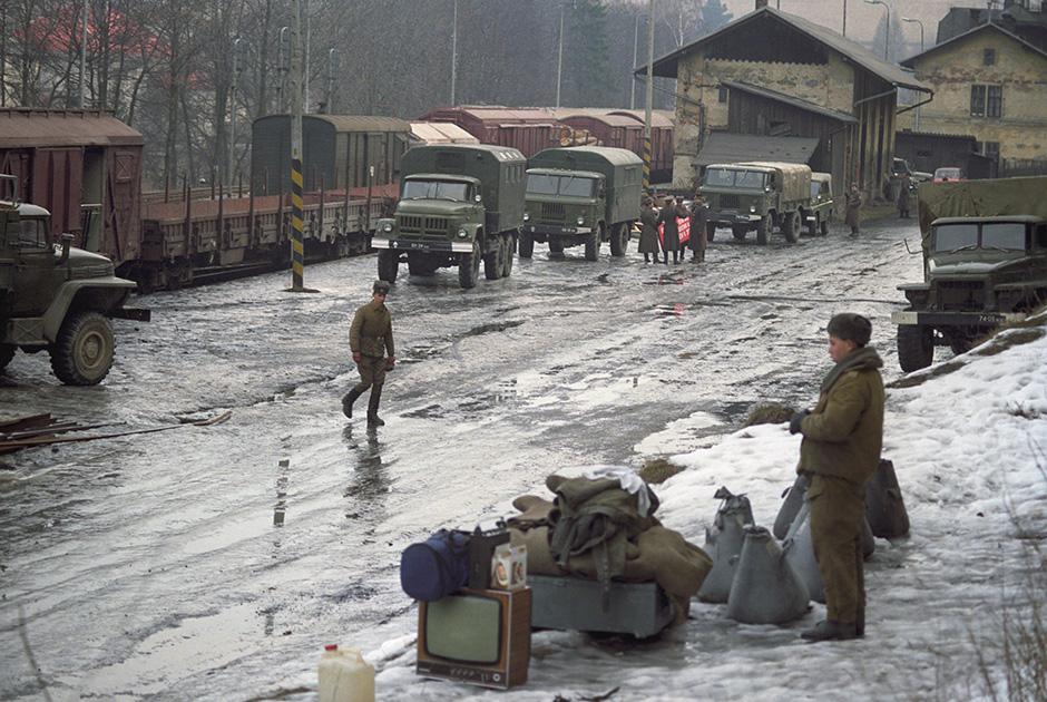 Вывод советских войск из Чехословакии