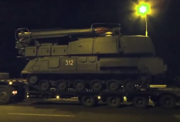 «Бук 312» в городе Ясиноватая, март 2014 года