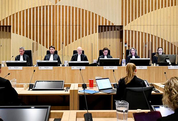 Судебный комплекс Схипхол в нидерландском городе Бадхоеведорп
