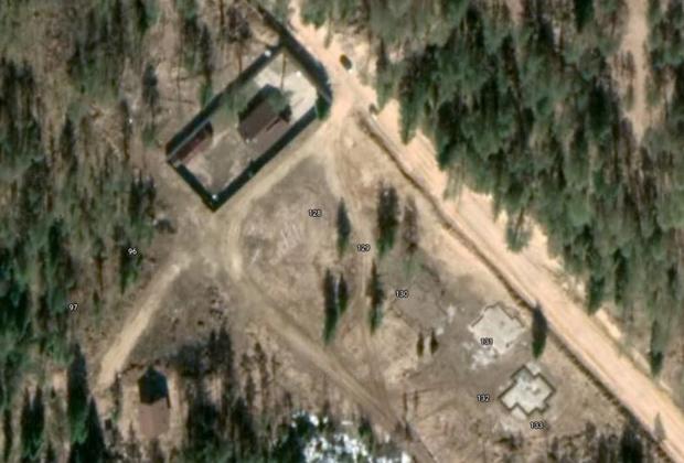 Схема подземной тюрьмы
