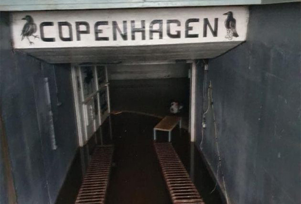 Интерьеры подземной тюрьмы
