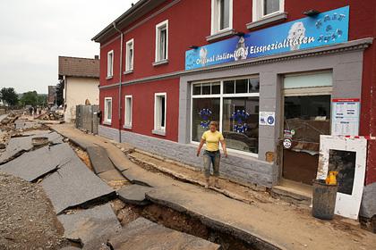 Стали известны сроки восстановления Германии после наводнений: Общество: Мир: Lenta.ru