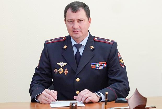 Глава ГИБДД Ставрополья Алексей Сафонов
