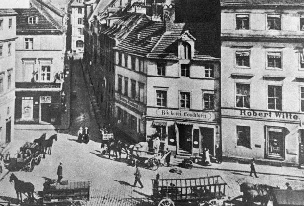 Один из переулков Берлина, 1931 год