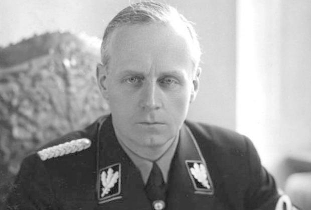 Глава МИД фашистской Германии Иоахим фон Риббентроп
