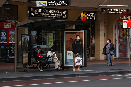 В Сиднее объявили чрезвычайную ситуацию из-за вспышки «дельта»-варианта COVID-19