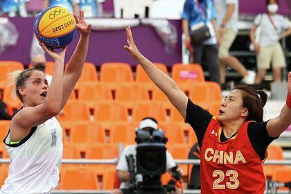 Российские баскетболистки обыграли сборную Китая на Олимпиаде в Токио