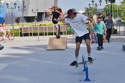 В Ставропольском крае устроили первый скейт-фестиваль