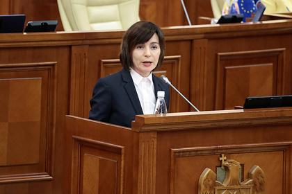 Президент Молдавии захотела провести революцию в управлении страной