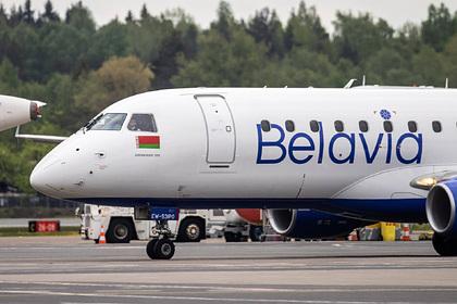Резко изменивший курс самолет «Белавиа» приземлился в Москве