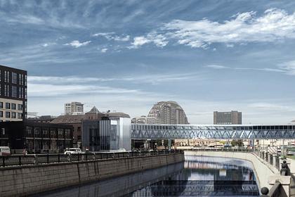 Названа дата открытия нового пешеходного моста в Москве
