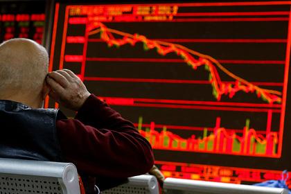 Китай спровоцировал обвал на собственных биржах