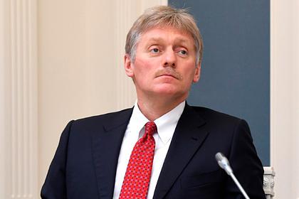 Песков назвал далекой от нормализации ситуацию с коронавирусом в России