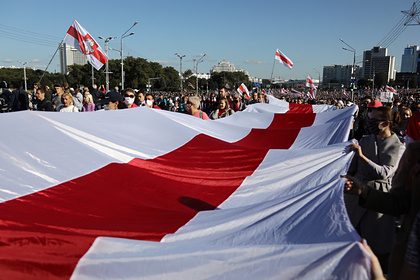 В Белоруссии символ массовых протестов признают экстремистским