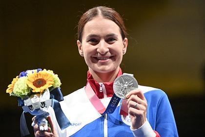 Российская саблистка Великая рассказала о намерении поехать на пятую Олимпиаду