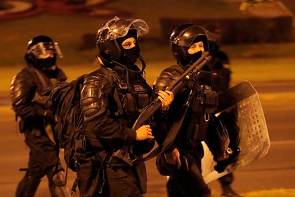 Белорусские силовики начали отрабатывать подавление массовых беспорядков