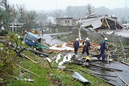 Названа дата обрушения мощного тайфуна на Японию
