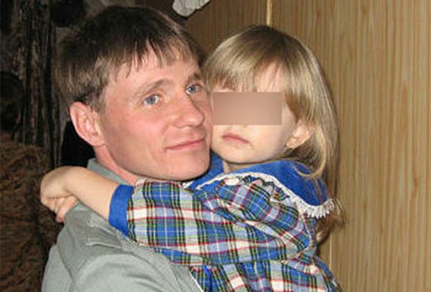 Подполковник Алексей Подмарков с дочерью Анной